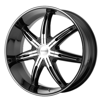 - Wheel Specials - KMC Wheels KM665 Surge G-Blk/Mch
