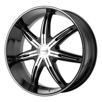 - Wheel Specials - KMC Wheels KM665 Surge G-Blk/Mch