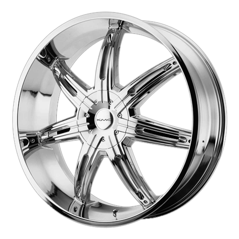 - Wheel Specials - KMC Wheels KM665 Surge Chrome