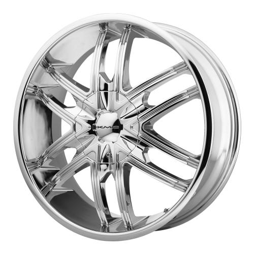 - Wheel Specials - KMC Wheels KM678 Splinter Chrome
