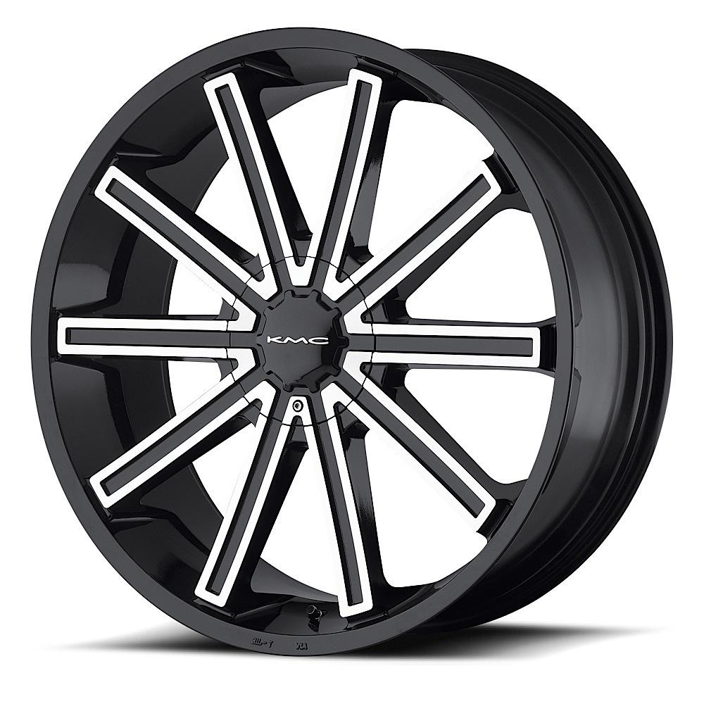 - Wheel Specials - KMC Wheels KM681 G-Blk/Mach