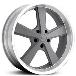- Wheel Specials - KMC Wheels KM701 Gray/Mch Lip
