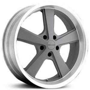- Wheel Specials - KMC Wheels KM701 Gray/Mch Lip