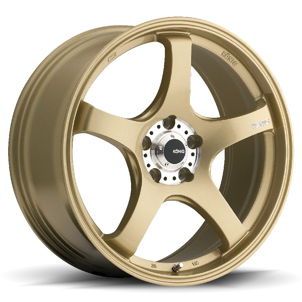 Konig Wheels Centigram Gold With Machined Pcd