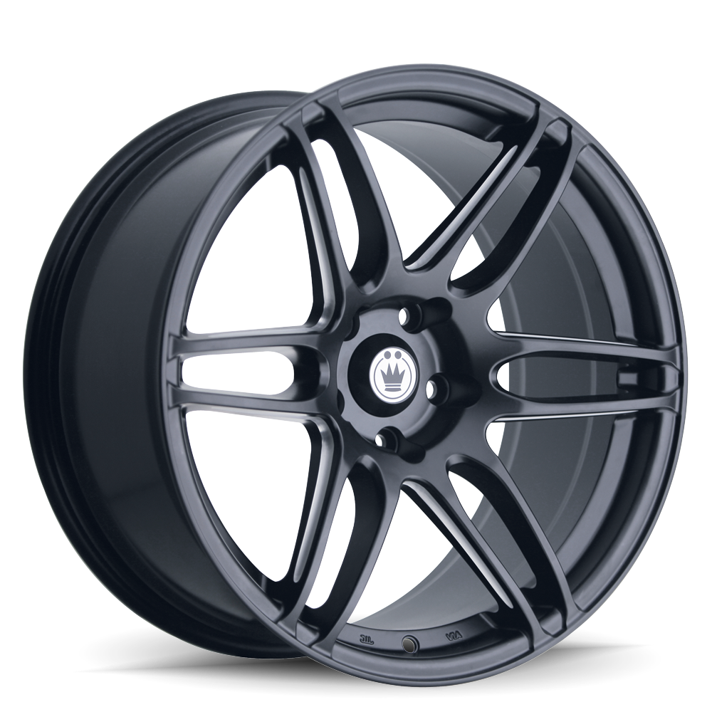 Konig Wheels Deception Matte Black Ball Cut Machined