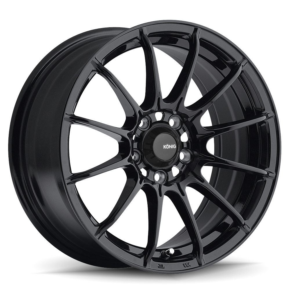 Konig Wheels Dial In Gloss Black