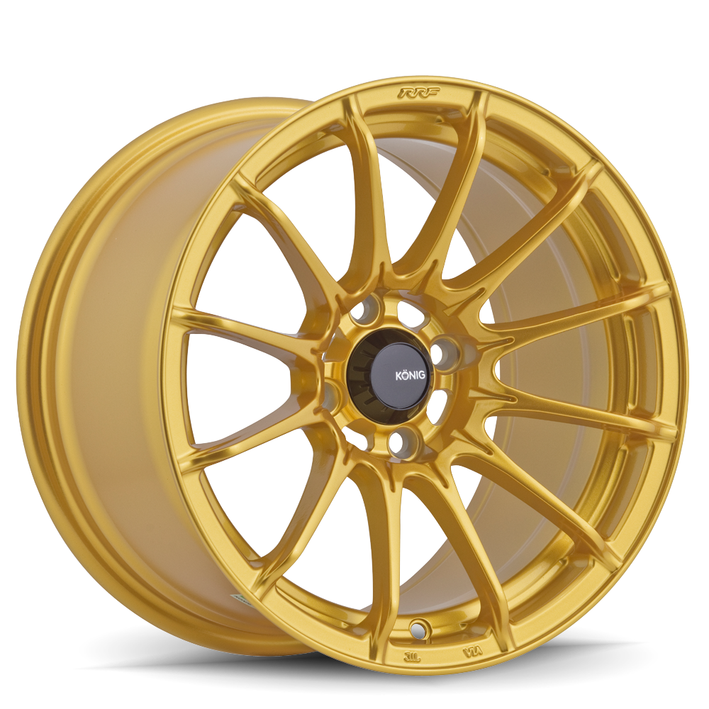 Konig Wheels Dial In Gloss Gold