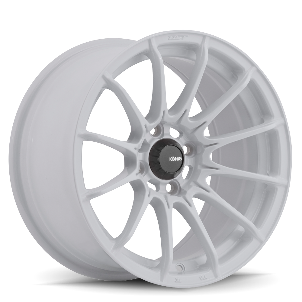 Konig Wheels Dial In Gloss White
