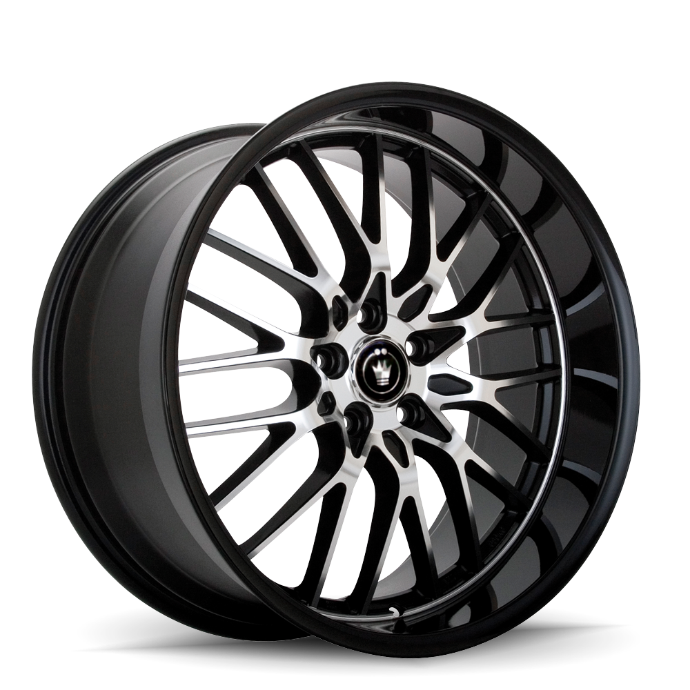 Konig Wheels Lace Gloss Black With Machined Face