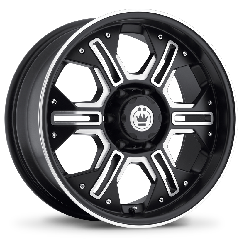 Konig Wheels Locknload Matte Black With Machined Face