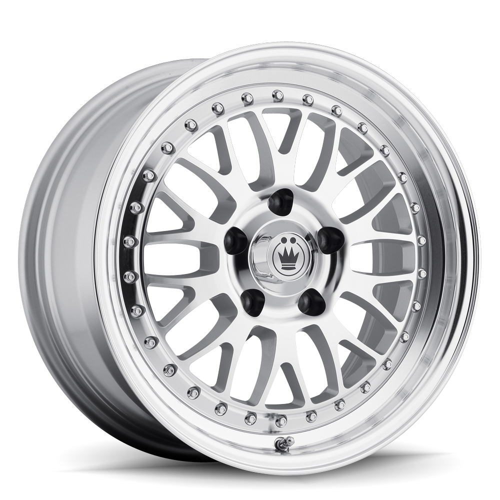 Konig Wheels Roller Silver With Machined Lip
