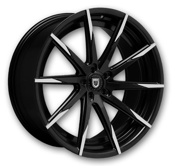 - Wheel Specials - Lexani Wheels CSS15 Blk/Mach Tip