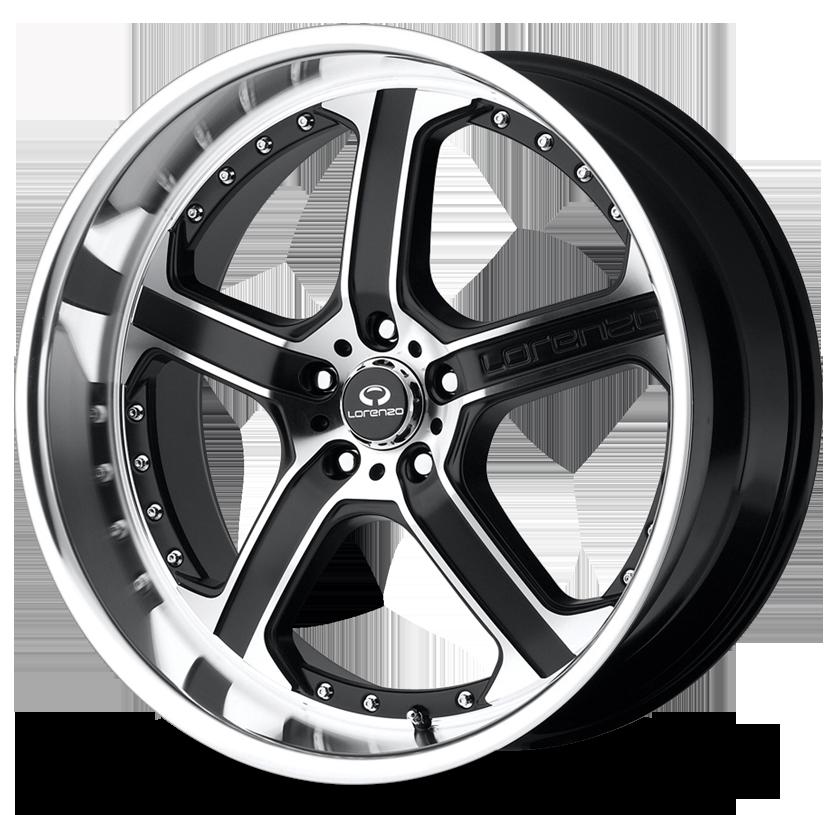 - Wheel Specials - Lorenzo Wheels WL021 M-Blk/Mach