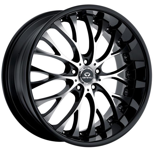 - Wheel Specials - Lorenzo Wheels WL027 G-Blk/Mch