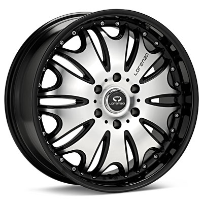 - Wheel Specials - Lorenzo Wheels WL029 G-Blk/Mch