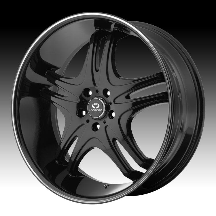 - Wheel Specials - Lorenzo Wheels WL031 G-Blk