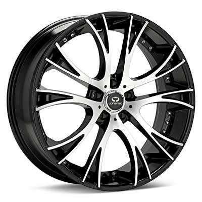 - Wheel Specials - Lorenzo Wheels WL034 G-Blk/Mch
