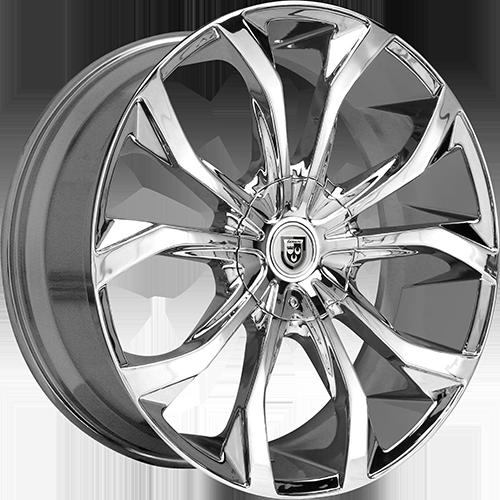 Lexani Wheels LUST Chrome