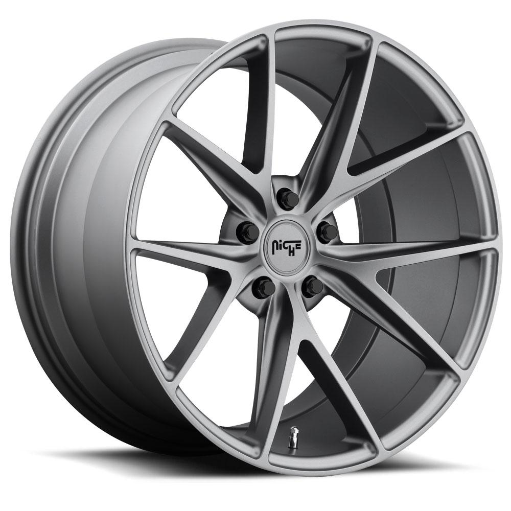 Niche Road Wheels M116 Misano Gunmetal
