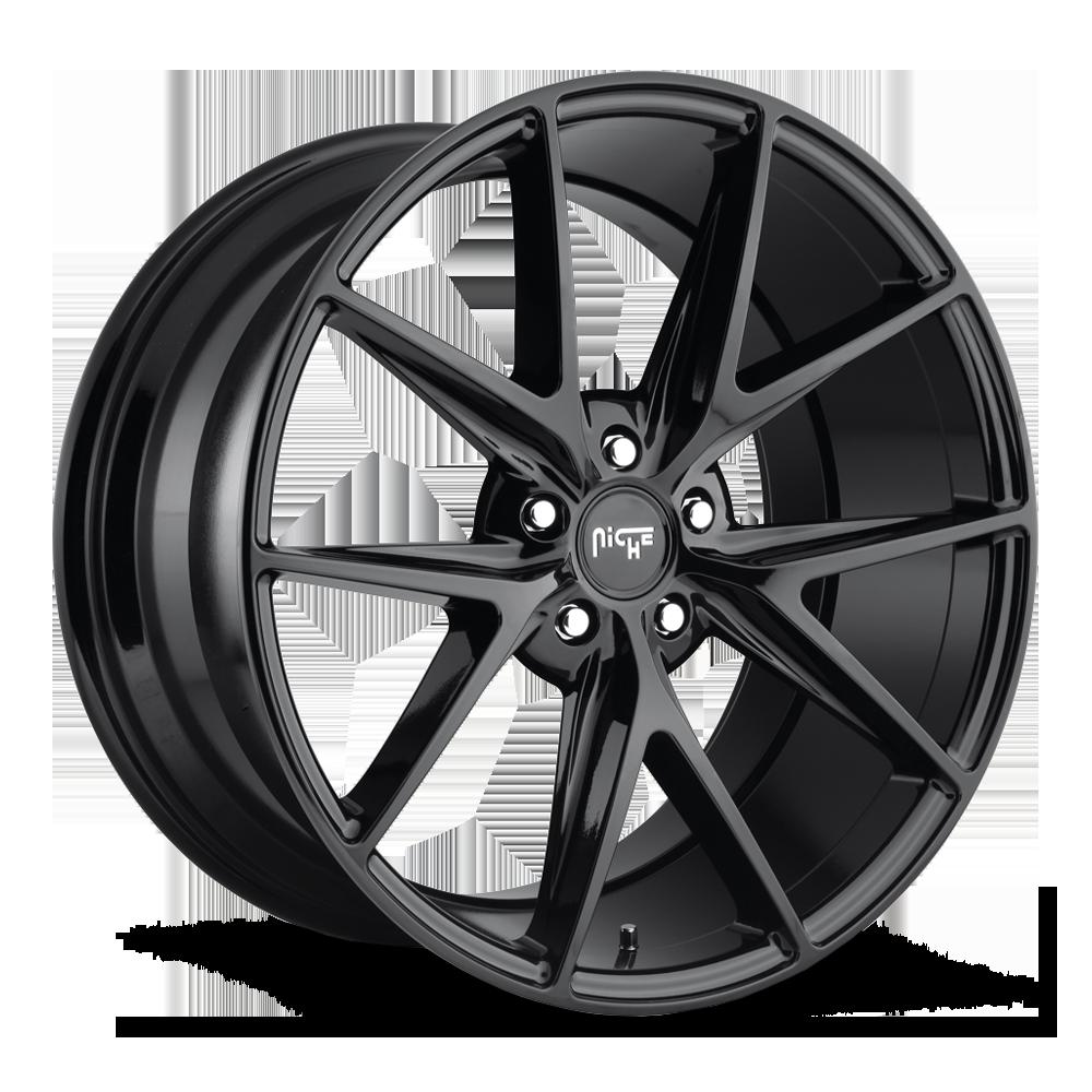 Niche Road Wheels M119 Misano Black