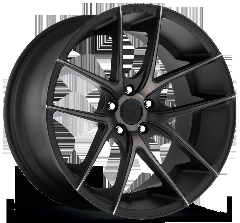 Niche Road Wheels M130 Targa Black/Machined-Milled