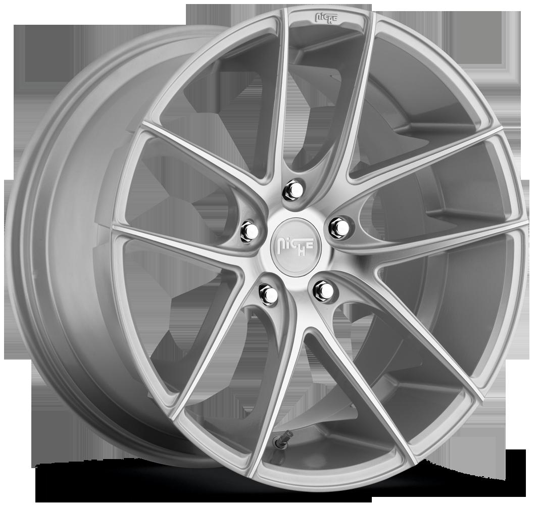 Niche Road Wheels M131 Targa Silver