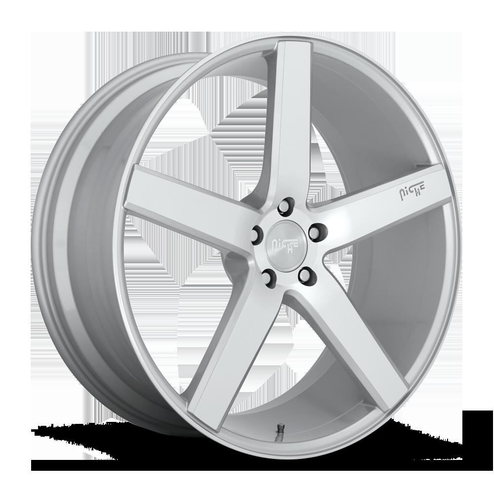 Niche Road Wheels M135 Milan Silver