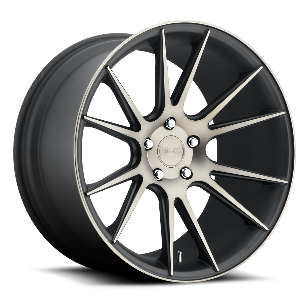 19x10 Niche Road Wheels M153 Vicenza Black/Machined-Milled