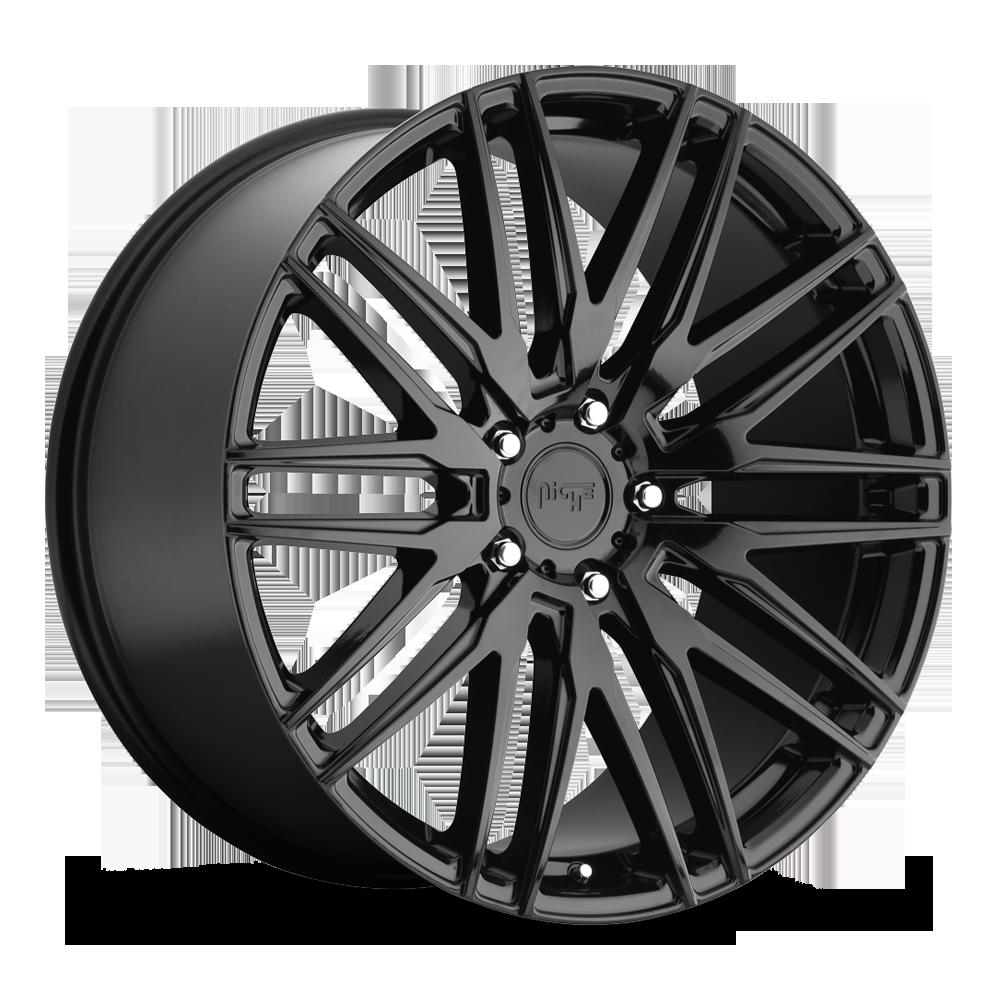 Niche Road Wheels M164 Anzio Black
