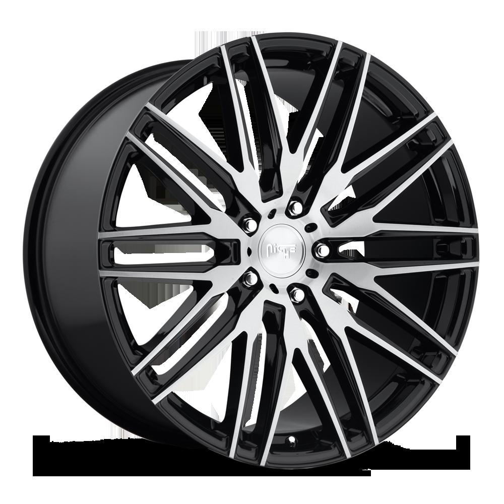 Niche Road Wheels M165 Anzio Silver