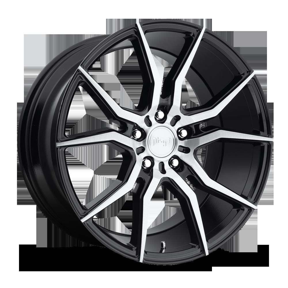 Niche Road Wheels M166 Ascari Silver