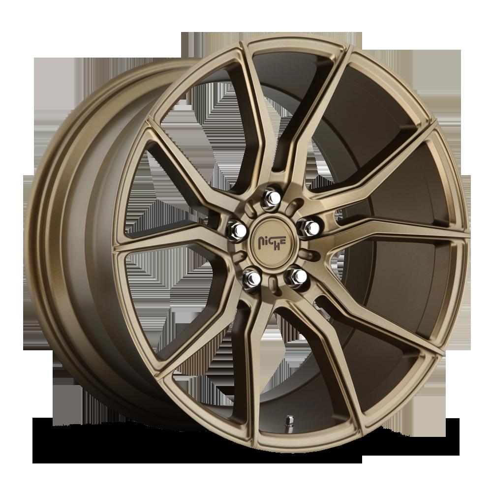 Niche Road Wheels M167 Ascari Bronze
