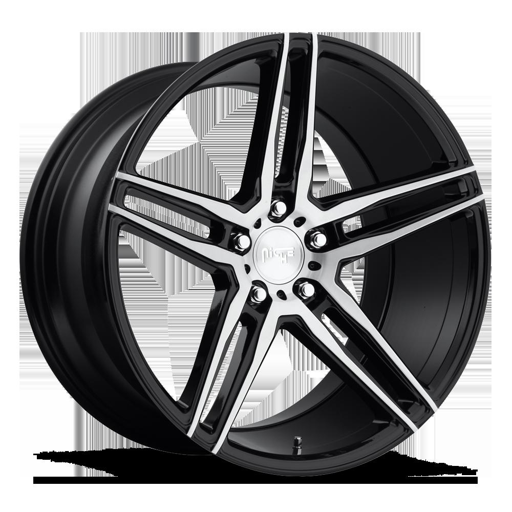 Niche Road Wheels M169 Turin Black/Machined-Milled