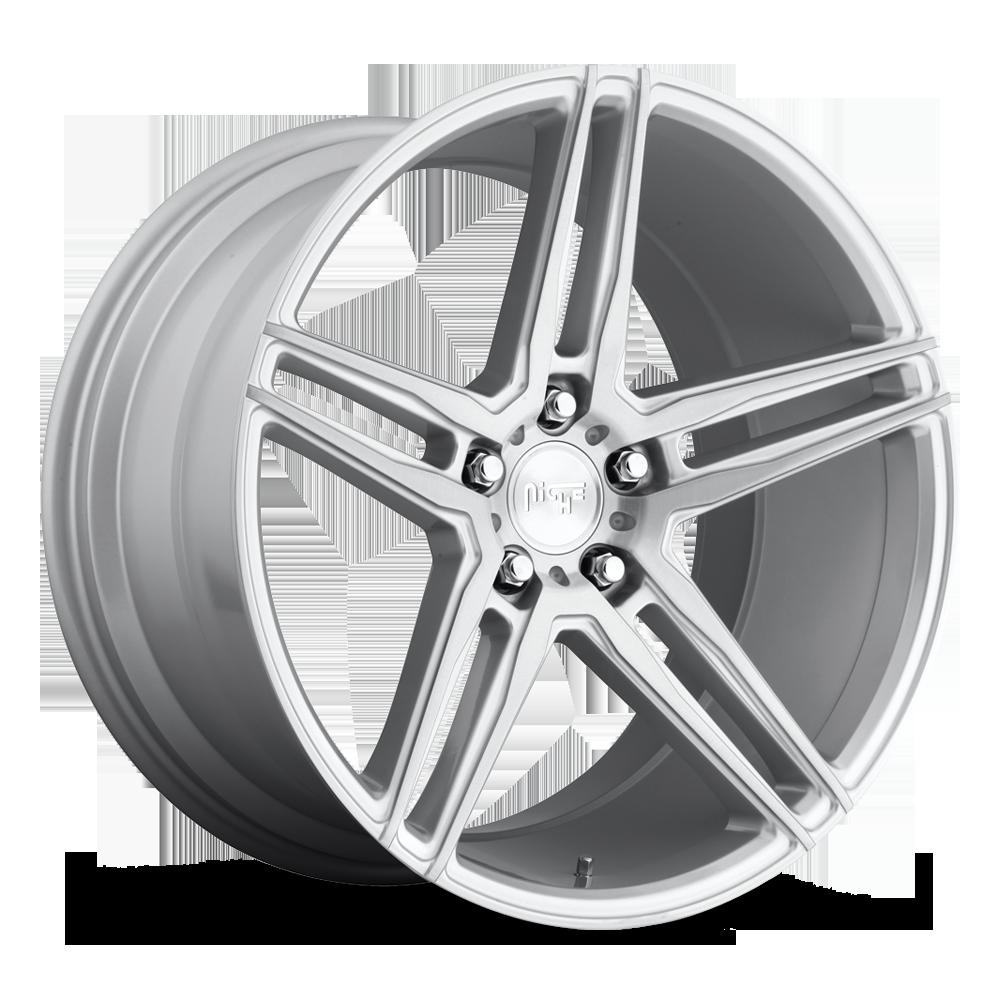 Niche Road Wheels M170 Turin Silver