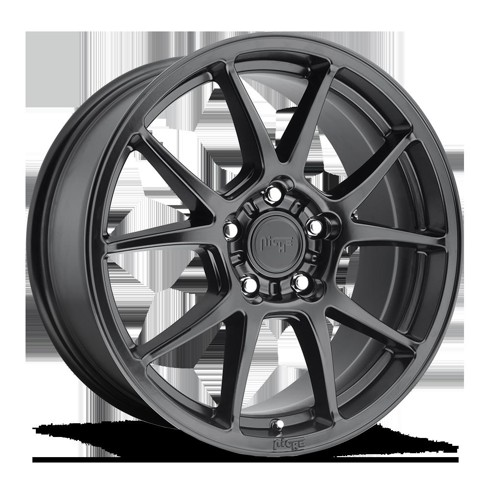 Niche Road Wheels M174 Messina Black