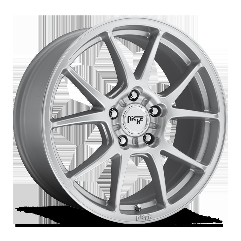 Niche Road Wheels M175 Messina Silver