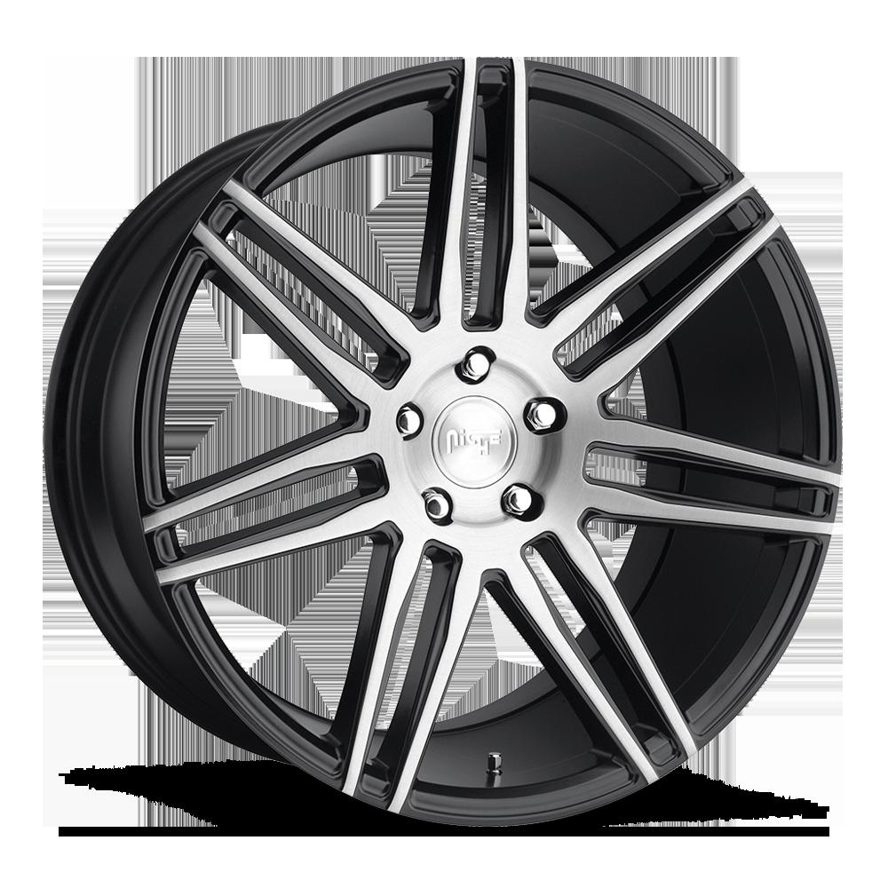 Niche Road Wheels M178 Trento Black