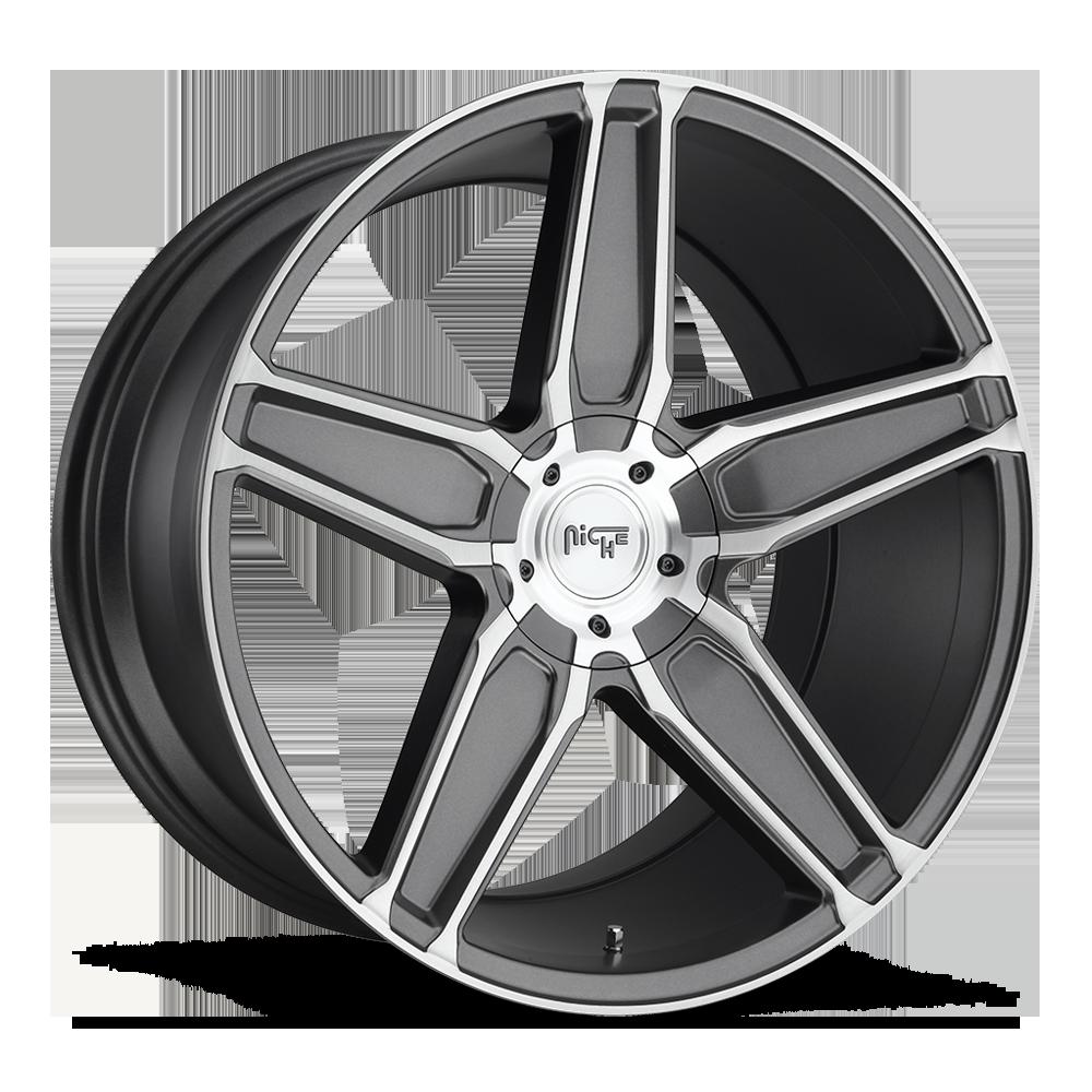 Niche Road Wheels M181 Cannes Gunmetal