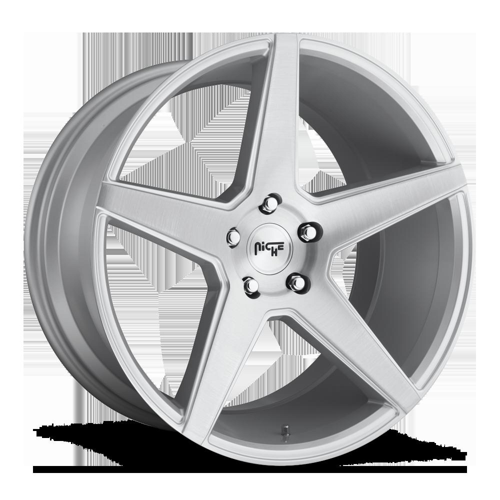 Niche Road Wheels M184 Carini Silver
