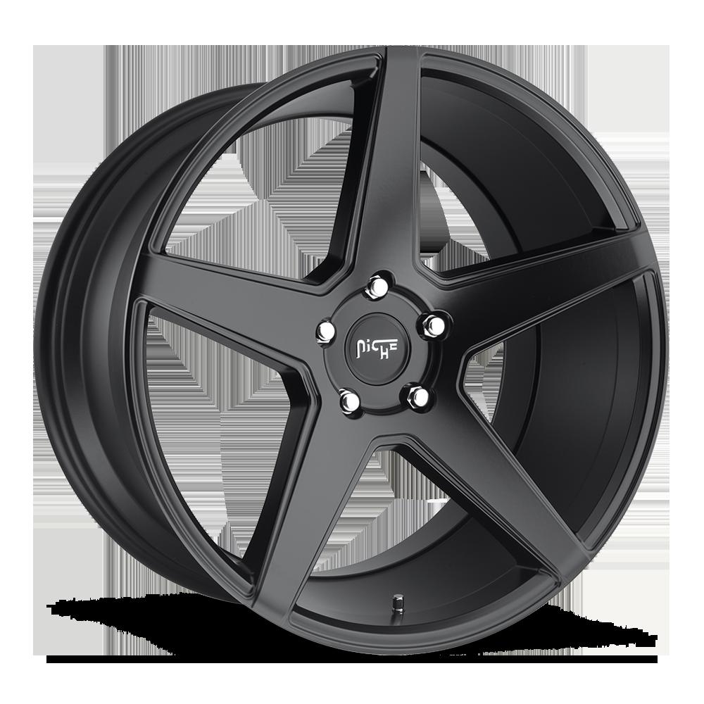 Niche Road Wheels M185 Carini Black