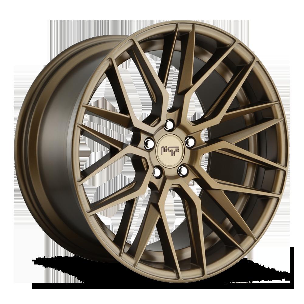 Niche Road Wheels M191 Gamma Bronze