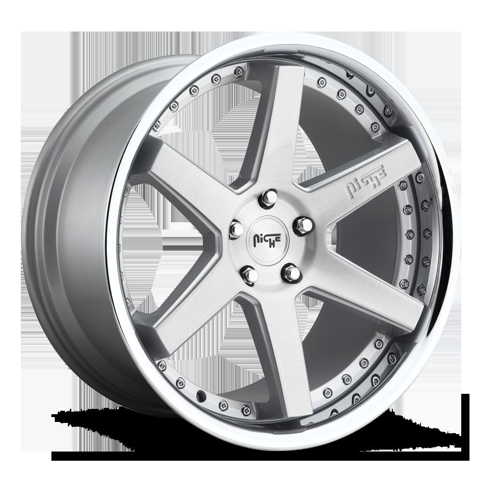 Niche Road Wheels M193 Altair Silver