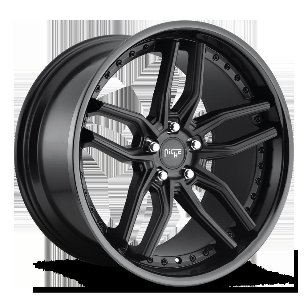 Niche Road Wheels M194 Methos Black