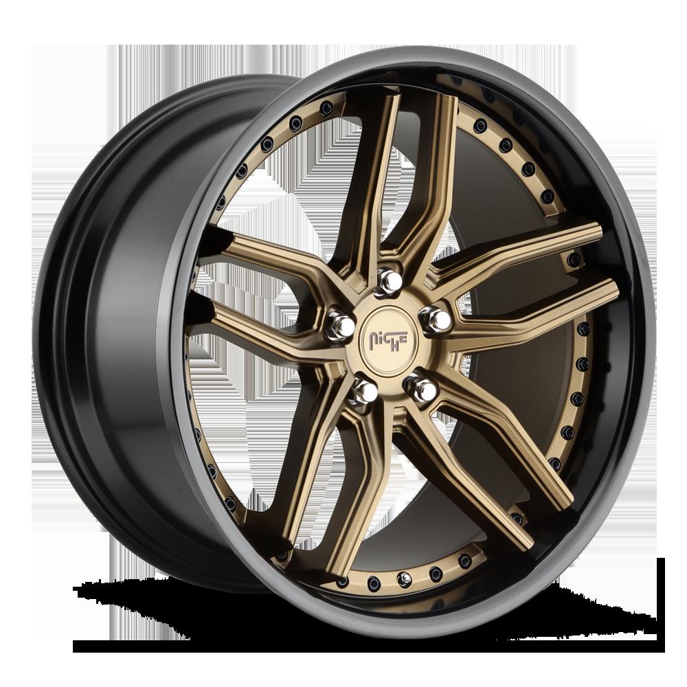 Niche Road Wheels M195 Methos Bronze