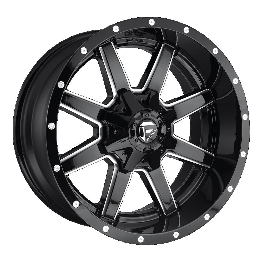 Fuel Offroad Wheels Maverick Black Milled