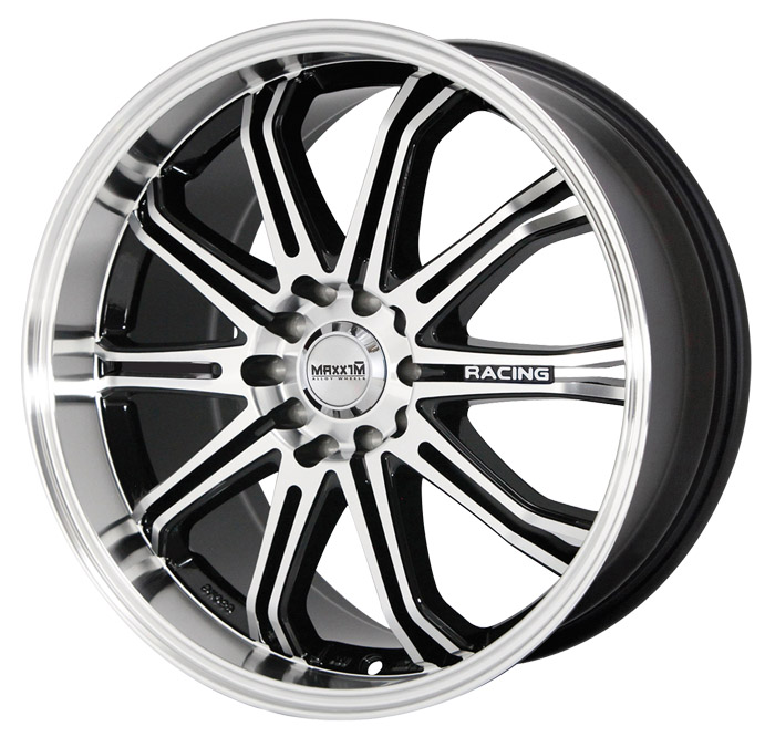 Maxxim Wheels Ferris Machined Face Black Accents