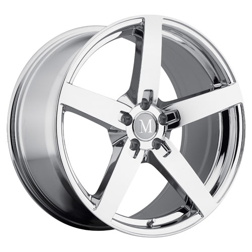 Mandrus Mercedes Wheels Arrow Chrome