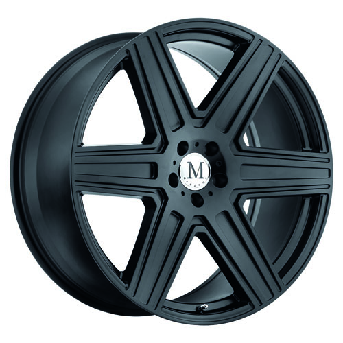 Mandrus Mercedes Wheels Atlas Black