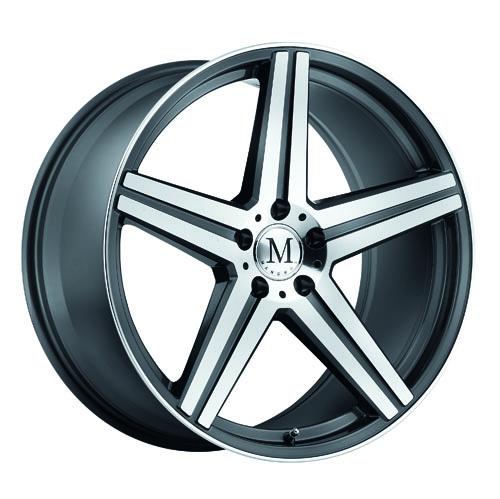 Mandrus Mercedes Wheels Estrella Gunmetal