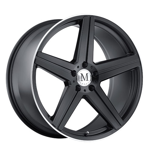 Mandrus Mercedes Wheels Estrella Black